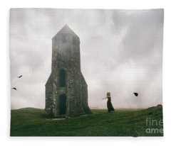 Raven Queen Fleece Blanket