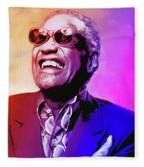 Ray Charles Fleece Blanket