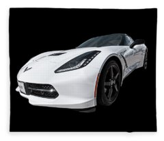 Ray Of Light - Corvette Stingray Fleece Blanket