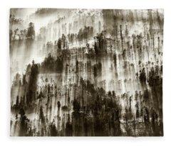 Fleece Blanket featuring the photograph Rays Of Light by Pradeep Raja Prints