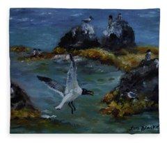 Re-tern-ing Home Fleece Blanket