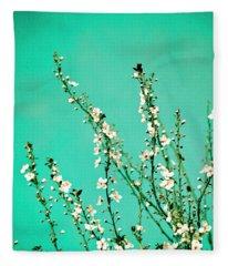 Reach - Botanical Wall Art Fleece Blanket