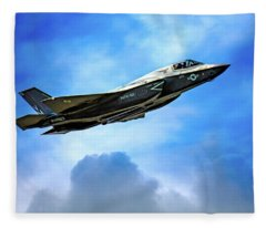 Reach For The Skies Fleece Blanket