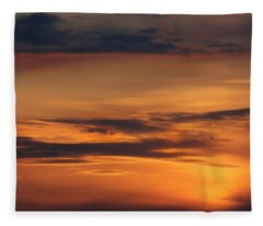 Yellow Sky Photographs Fleece Blankets