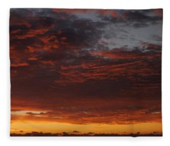 Reach For The Sky 12 Fleece Blanket