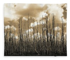 Reaching To The Sky Fleece Blanket