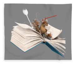 Reading Is An Adventure Fleece Blanket