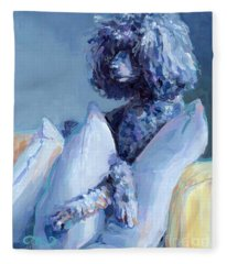 Poodle Fleece Blankets