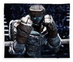 Real Steel Atom Fleece Blanket