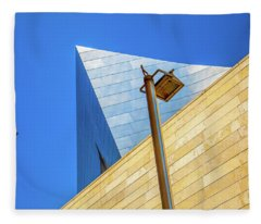 Walt Disney Concert Hall Photographs Fleece Blankets