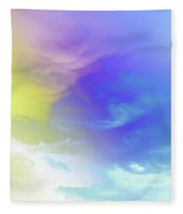Realm Of Angels Fleece Blanket