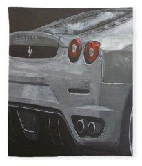 Rear Ferrari F430 Fleece Blanket