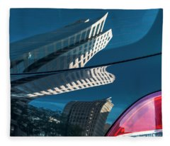 Rear Reflections Fleece Blanket