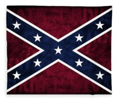 Rebel Flag Fleece Blanket