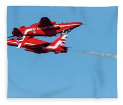 Red Arrows  Fleece Blanket