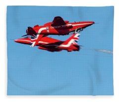 Red Arrows  Fleece Blanket