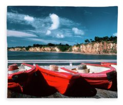 Red Boat Diaries Fleece Blanket