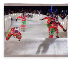 Red Bull Crashed Ice St Paul Fleece Blanket