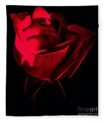 Red Desire Fleece Blanket