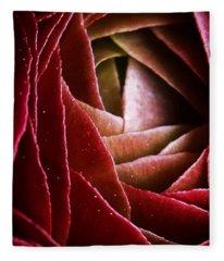 Red Dragon Fleece Blanket