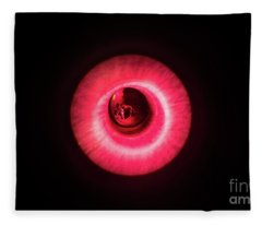 Red Flash Fleece Blanket