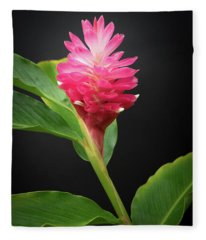 Red Ginger Fleece Blanket