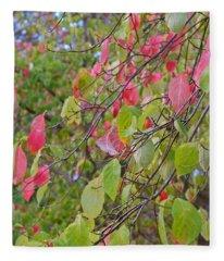 Red Green October Fleece Blanket