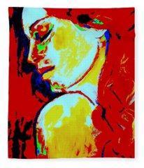 Red Head Fleece Blanket