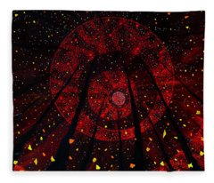Red October Fleece Blanket
