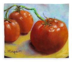 Red Ripe And Ready Fleece Blanket