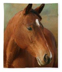 Red River - Painted Fleece Blanket