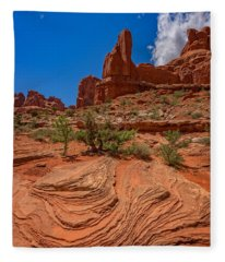 Red Rock Park Avenue Fleece Blanket