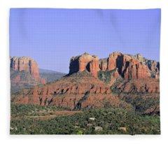 Red Rocks Sedona Fleece Blanket