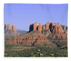 Red Rocks Sedona Fleece Blanket