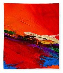 Red Sensations Fleece Blanket