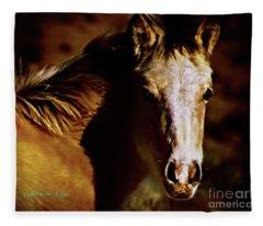 Red Willow Pony Lx Fleece Blanket