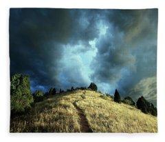 Redemption Trail Fleece Blanket