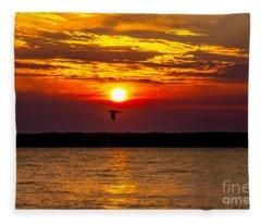 Redeye Flight Fleece Blanket