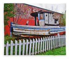 Redneck Dry Dock Fleece Blanket