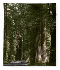 Redwood Highway Fleece Blanket