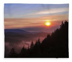 Redwood Sun Fleece Blanket