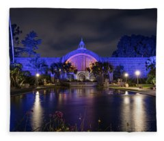 Reflection In The Lily Pond Fleece Blanket