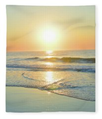 Reflections Meditation Art Fleece Blanket
