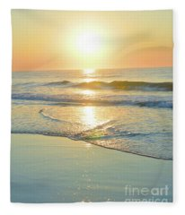 Reflections Meditation Art Fleece Blanket