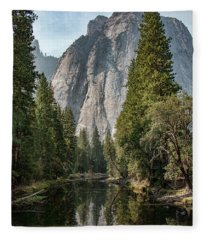 Reflections Of El Capitan Fleece Blanket