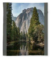 Reflections Of El Capitan Fleece Blanket