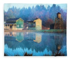 Reflections Of Hope - Hope Valley Art Fleece Blanket