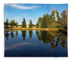 Reflections Of Life Fleece Blanket