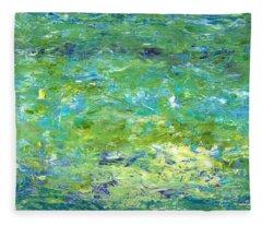 Reflections Of Light Fleece Blanket