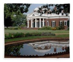 Reflections Of Monticello Fleece Blanket